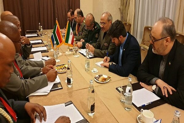 Iran, S Africa poised to boost defense coop.