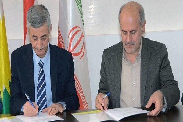 Iran's Dehkhoda inst., Iraqi Kurdistan's Zakho uni. signed MoU