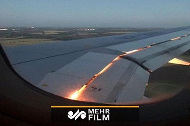 Moskova'da uçak yangını!