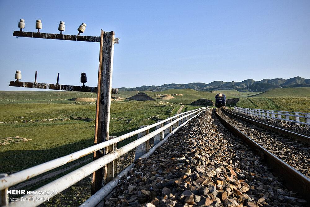 زيارة الصحفيين لخطوط السكة الحديدية على حدود ايران وتركمنستان