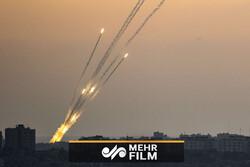 VIDEO: Gaza's retaliatory rocket hits Israeli city of Ashdod