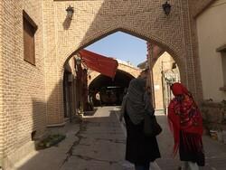 بازارچه عودلاجان بالاخره رنگ صنایع دستی گرفت