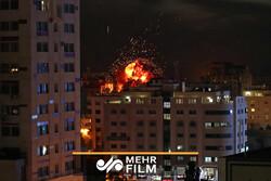7 شهداء و45 إصابة في العدوان الإسرائيلي على غزة