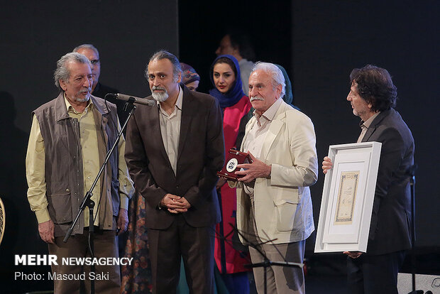 Closing ceremony of commemoration of Theater Week