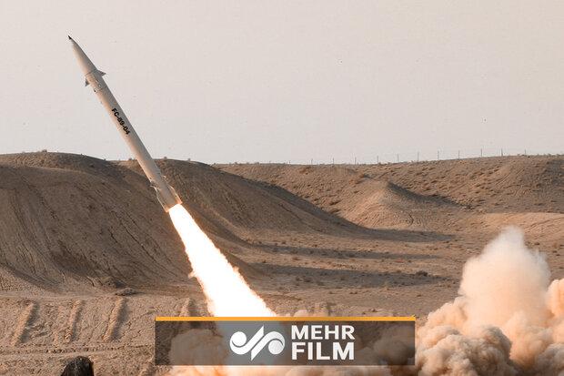 """صواريخ """"بدر 3"""" في طريقها نحو المستوطنات الصهيونية /فيديو"""