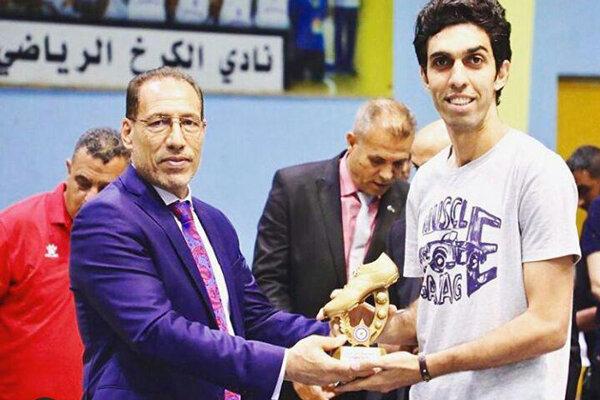 "İranlı futbolcu Irak'ta ""gol kralı"" oldu"