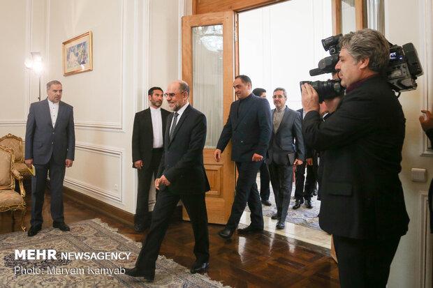 دیدار خداحافظی سفیر افغانستان با وزیر امور خارجه