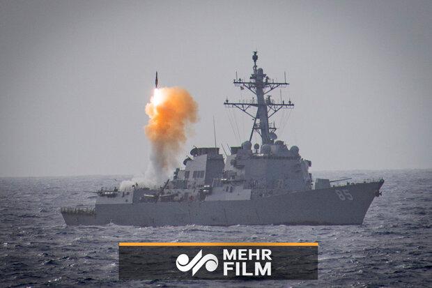 رزمایش مشترک دریایی روسیه و چین اجرا شد