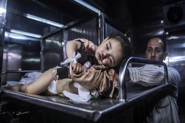 صبا ذات ال14 شهراً ضحية جرائم العدوان الصهيوني على غزة/فيديو