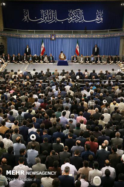 محفل الأنس مع القرآن الكريم بمشاركة قائد الثورة الإسلامية