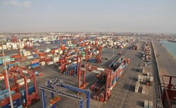 Throughput at Iran's largest container port passes 4.5mn tons