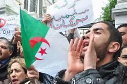 تظاهرات هزاران معترض الجزایری علیه نظام حاکم