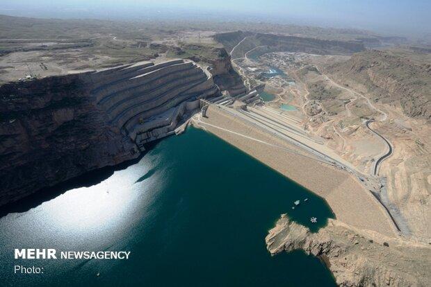 بیلان منابعآبی سدهای خوزستان منفی است/حجم خالی سدهای استان