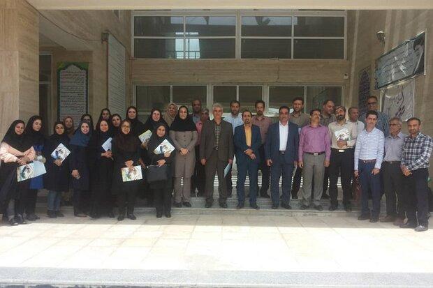 سرآمدان آموزشی استان بوشهر تقدیر شدند