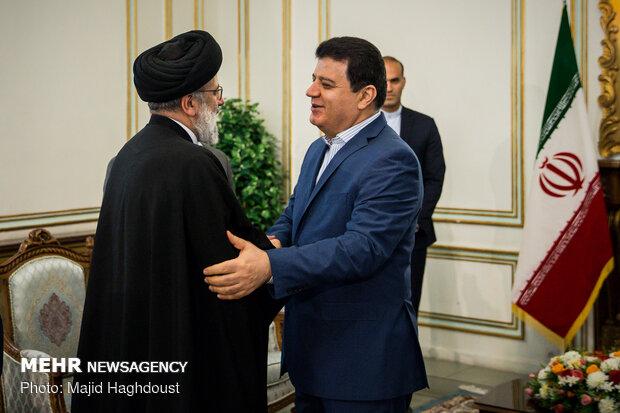 Suriye'nin Tahran Büyükelçisi, Ayetullah Reisi'yle görüştü