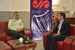 فرمانده انتظامی سیستان وبلوچستان از خبرگزاری مهر بازدید کرد