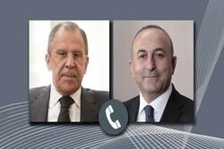 گفتگوی تلفنی لاوروف و چاوش اوغلو درباره سوریه