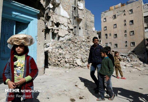 حلب میں دہشت گردوں کے حملے میں ایک شخص ہلاک اور 8 زخمی