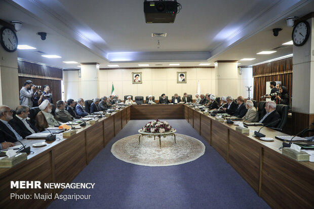 Expediency Council's meeting