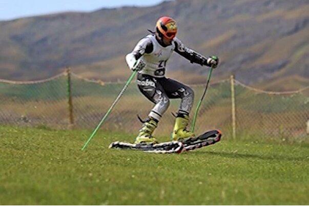 حضور بانوی اسکی باز آذربایجان شرقی در اردوی تیم ملی