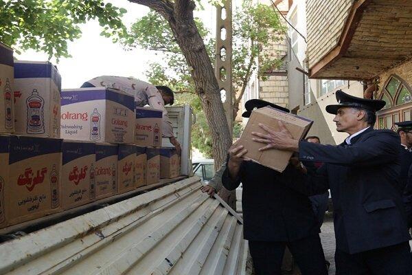 ارسال محموله یک میلیارد تومانی کمک های آستان قدس به مناطق سیل زده