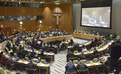 Iran calls for intensifying efforts for nuclear disarmament