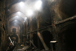 Fire incurs $1.3 million loss to Iran's historic Bazaar of Tabriz