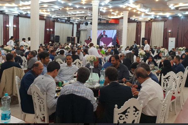 جشن گلریزان در قزوین برگزار شد
