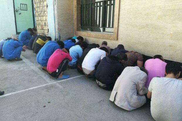 ۲۱ معتاد متجاهر در همدان دستگیر و تحویل مراجع قضایی شد