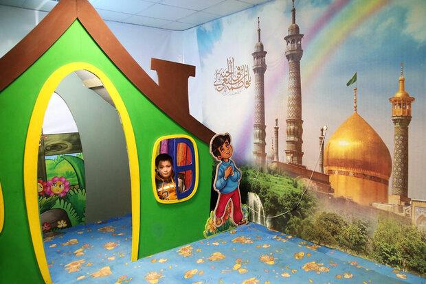 اجرای برنامههای فرهنگی در رواق کودک و نوجوان حرم حضرت معصومه(س)