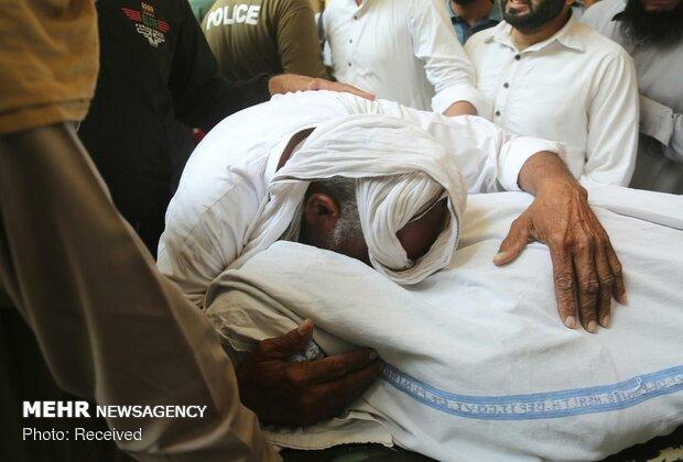 انفجار تروریستی در لاهور