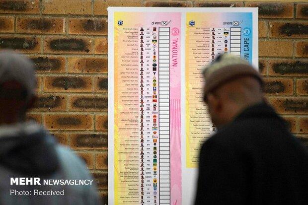 انتخابات در آفریقای جنوبی