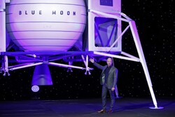 «بلواوریجین» لندر به ماه می فرستد