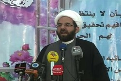 Vice President of the Executive Council of Hezbollah Sheikh Ali Damoush