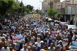 Ülke genelinde İran'ın nükleer anlaşma kararına destek gösterisi yapıldı