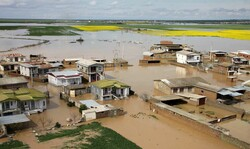 Flood in Golestan province