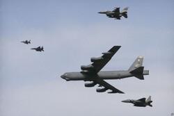 بمب افکن های «بی۵۲» آمریکا در نزدیکی تایوان گشتزنی کردند