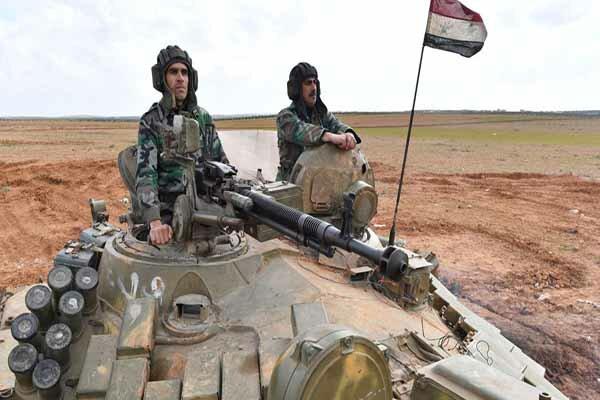پیشروی برق آسای نیروهای تحت فرماندهی ببر در شمال غرب سوریه