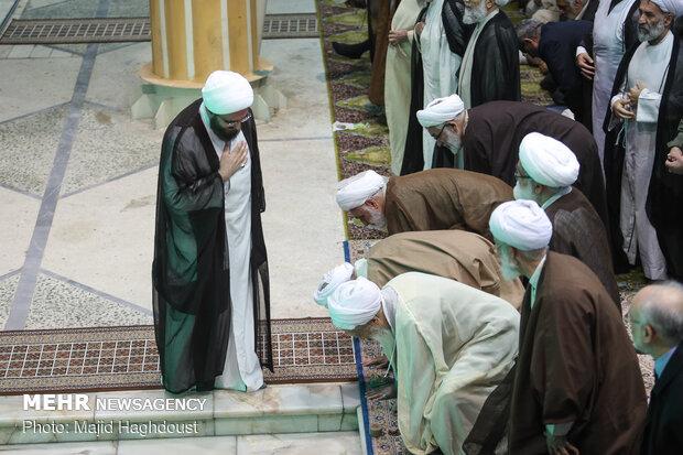 Friday prayers in Tehran