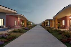 محله ای با خانه های چاپی ساخته می شود