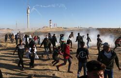 غزہ میں وطن واپسی کے سلسلے میں ریلی کا سلسلہ جاری