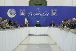 Rouhani says US political, economic war unprecedented since Islamic Revolution