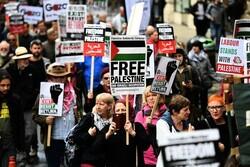 مظاهرات في بريطانيا رفضا لصفقة القرن