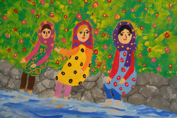 Iranian children win award at Kao Environment Painting Contest