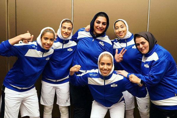 صعود تیم بسکتبال بانوان ایران به فینال و کسب سهمیه لیگ جهانی