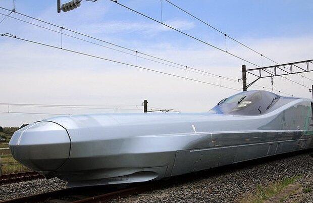 سریع ترین قطار گلوله ای جهان رونمایی شد