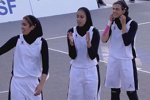 شکست تیم بسکتبال سه نفره دختران ایران در فینال
