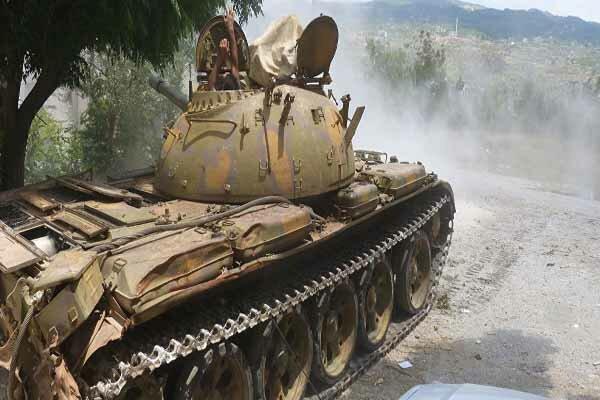 کشته شدن ۷ عنصر تکفیری در عملیات ارتش سوریه