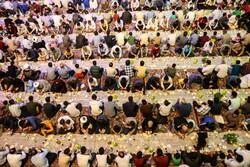 Hz. Masume'nin (s.a) kutsal türbesinde iftar ziyafeti