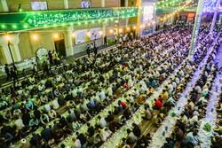 حضرت معصومہ (س) کے حرم میں افطار کا اہتمام